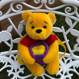 Vintage Winnie the Pooh Plush Back Pack Licensed
